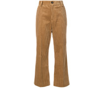 Cordhose im Cropped-Design