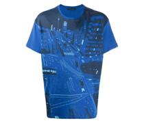 T-Shirt mit City-Print
