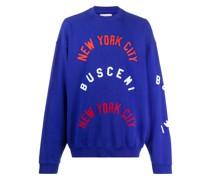 "Sweatshirt mit ""NYC""-Logo"