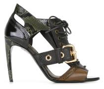 Sandalen aus Schlangenleder - women