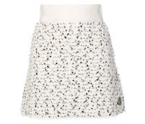 speckled mini skirt