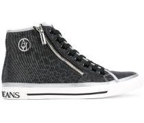 Sneakers mit Monogrammuster