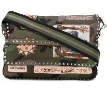 Kuriertasche mit Camouflage-Print - men