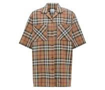 Hemd mit Vintage Check