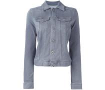 Jeansjacke mit Klapptaschen