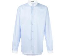 Hemd mit Stehkragen - men - Baumwolle - 40
