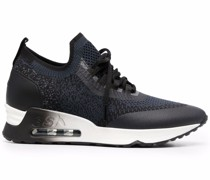 mesh low-top trainers