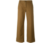 - Cropped-Hose mit Bügelfalten - women
