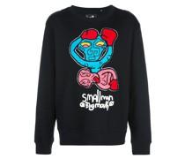 Sweatshirt mit Digital-Print