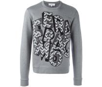 Capsule Now detail logo sweatshirt
