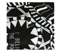 Power of Love printed scarf
