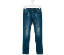 Jeans im DestroyedLook