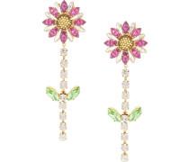 Ohrringe mit Blütenanhänger