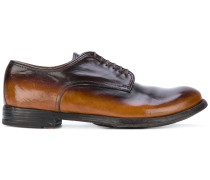 Derby-Schuhe mit Farbeffekt