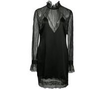 lingerie sateen mini dress