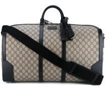 Reisetasche mit Logo-Muster