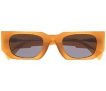X5 Sonnenbrille mit eckigem Gestell