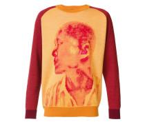 Sweatshirt mit Porträt-Print