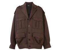 Oversized-Jacke mit Taschen