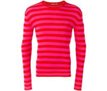 Gestreiftes Sweatshirt - men - Baumwolle - 48