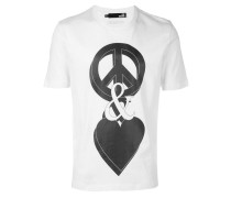 'Peace And Love' T-Shirt