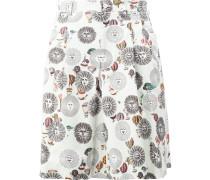 x Fornasetti Shorts mit Print