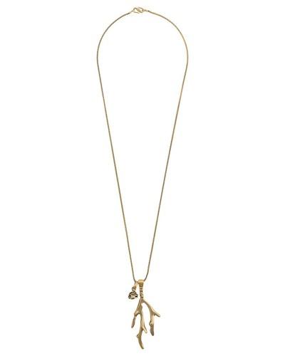 'Talisman' Halskette mit Koralle