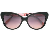 Sonnenbrille mit Schmetterlingsrahmen