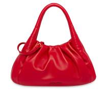 Handtasche mit gerafftem Band