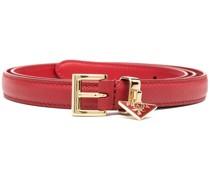 Saffiano belt