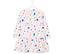 Kleid mit Hasen-Print