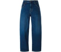 'The Barrel' Cropped-Jeans - women