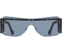 'Guarded' Sonnenbrille im Jeans-Look