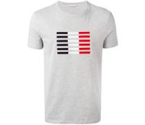 T-Shirt mit Streifenblock