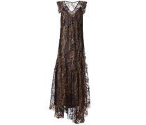 Kleid mit Tülllage