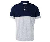 - Poloshirt mit Kontrasteinsatz - men - Baumwolle