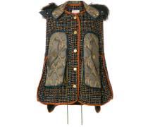 tweed shearling jacket
