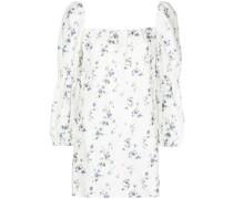 Jerri floral-print mini dress