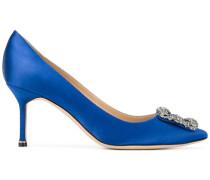 Hangisi 70 pumps - women - Leder/Silk Satin