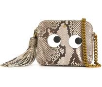 - 'Eyes' Umhängetasche aus Schlangenleder - women