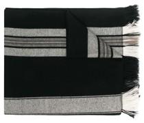 Schal mit Streifendetail