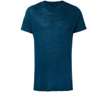 - 'Jaoui' T-Shirt - men - Leinen/Flachs - XL