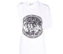 Einschultriges Toga T-Shirt