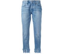 Jeans mit Quaste