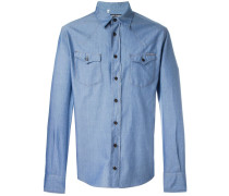 Hemd im Jeans-Look