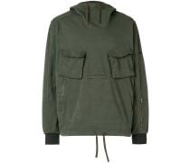 multipocket hoodie