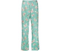 'Zeus' Pyjama-Hose aus Seide