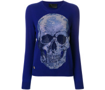 skull embellished jumper