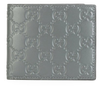 Portemonnaie mit GG-Muster - men - Kalbsleder