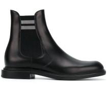 Chelsea-Boots mit Querstreifen
